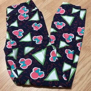 Lularoe Women's Disney Minnie Mouse leggings OS